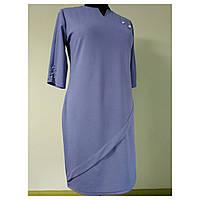 Женское платье большого размера осеннее нарядное 58 (52, 54, 56, 60) батал для полных женщин №0362