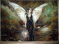 Картина из янтаря. Панно 45