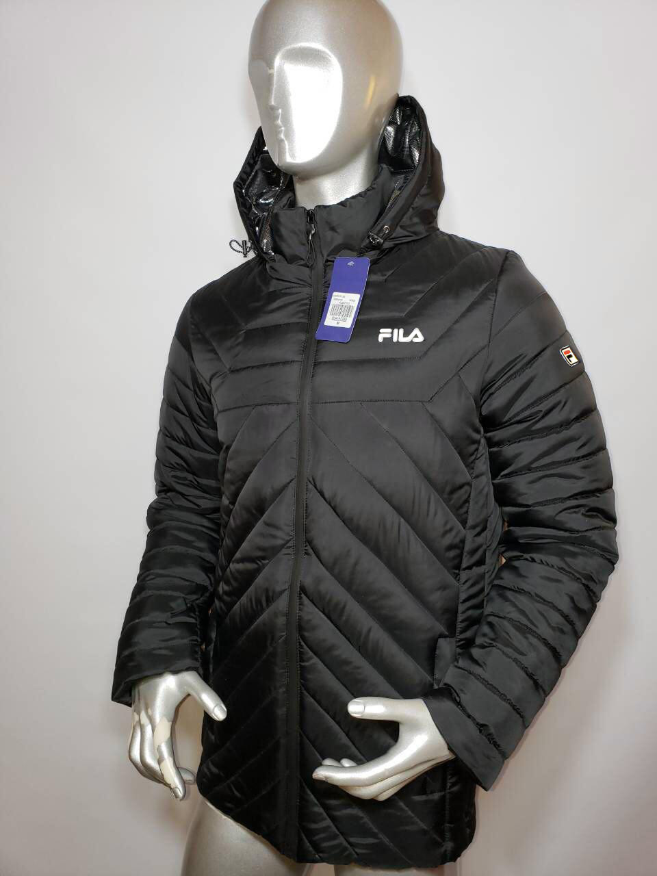 Мужская зимняя куртка Fila стёганная