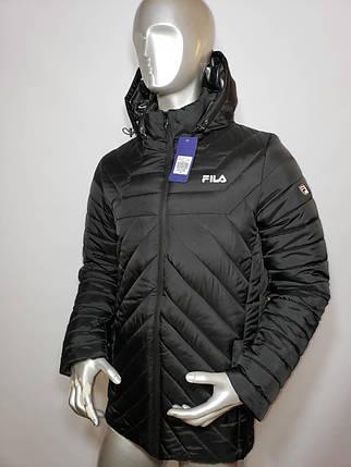 Мужская зимняя куртка Fila стёганная , фото 2