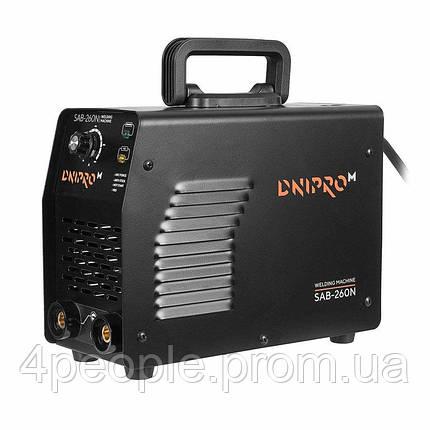 Сварочный аппарат IGBT Dnipro-M SAB-260N|СКИДКА ДО 10%|ЗВОНИТЕ, фото 2