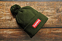 Мужская шапка Supreme Суприм (реплика)