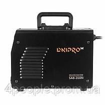 Сварочный аппарат IGBT Dnipro-M SAB-260N|СКИДКА ДО 10%|ЗВОНИТЕ, фото 3
