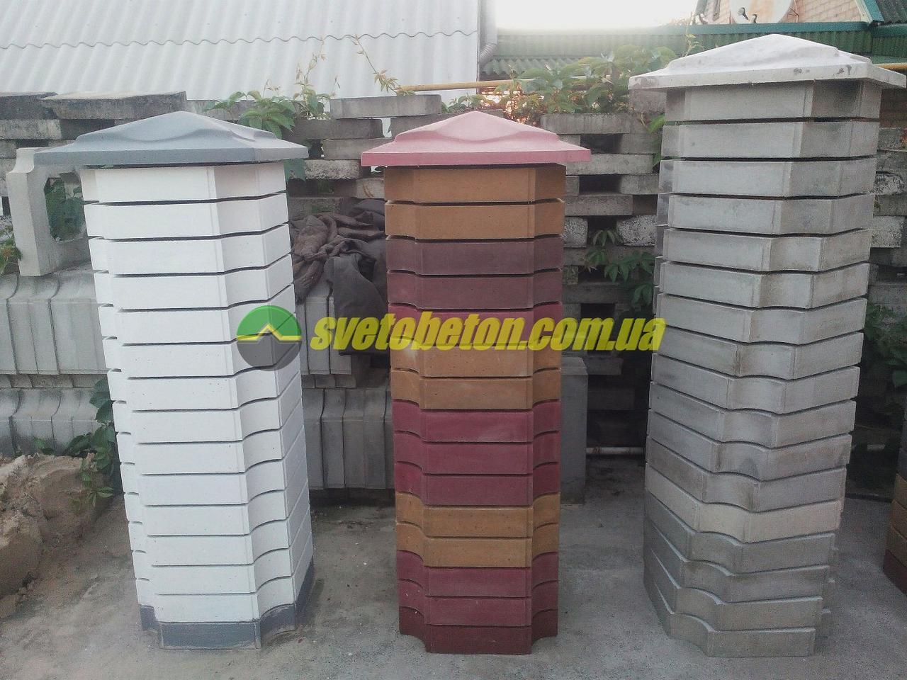 Декоративный столб из бетона купить бетон первого вида