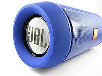 Портативная беспроводная колонка JBL CHARGE 2+ Blue (Bluetooth, Powerbank 6000mAH). Replica