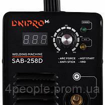 Сварочный аппарат IGBT Dnipro-M SAB-258D|СКИДКА ДО 10%|ЗВОНИТЕ, фото 2