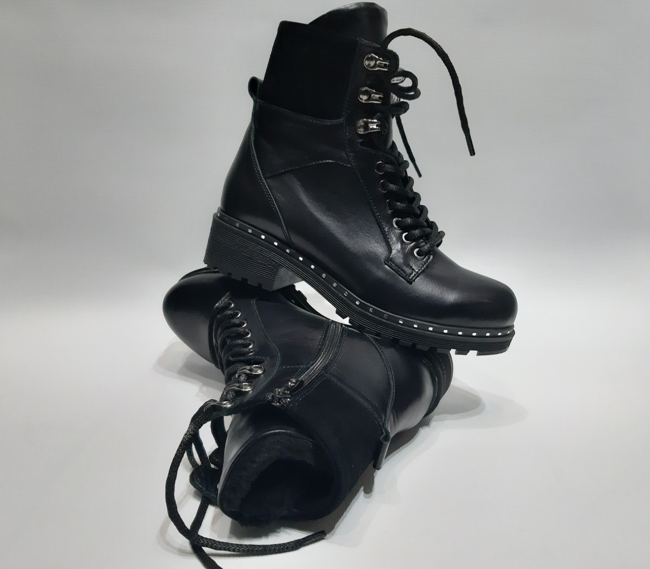 4355df7258cdac Ботинки женские кожа и замша натуральная зимние код 300: продажа ...