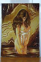 Картина из янтаря. Панно 50