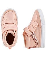 Хайтопы детские OshKosh EUR 24 25 26 сникерсы ботинки для девочки