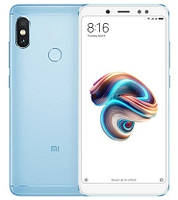 "Смартфон Xiaomi Redmi Note 5 4/64GB Blue Global, 12+5/13Мп, Snapdragon 636, 2sim, 5.99"" IPS, 4000mAh, GPS"
