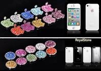 Стикер ( наклейка) на кнопку Home и на яблоко для Iphone 4, 4S , 5, 5S, Ipad
