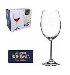 Набор бокалов для вина Bohemia Colibri 450 мл 6шт