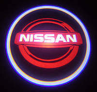 Лазерный проектор логотипа автомобиля NISSAN, фото 1
