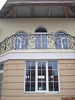 Кованые перила на балкон модель №1