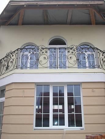 Кованые перила на балкон модель №1, фото 2