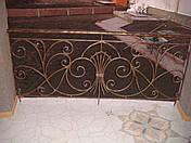 Кованые перила на балкон модель №1, фото 3