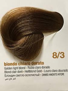 Стойкая крем-краска Innovation of the color 8/3 светлый золотистый блондин