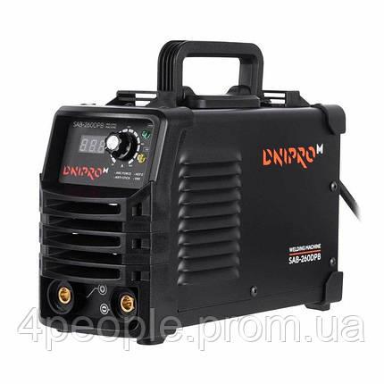 Сварочный аппарат IGBT Dnipro-M SAB-260DPB |СКИДКА ДО 10%|ЗВОНИТЕ, фото 2