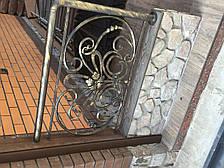 Кованые перила на балкон модель №2, фото 2