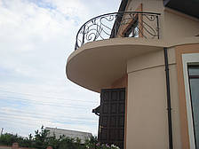 Кованые перила на балкон модель №3, фото 2