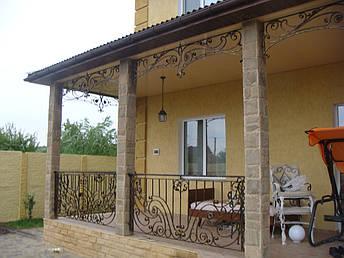 Кованые перила на балкон модель №4, фото 2