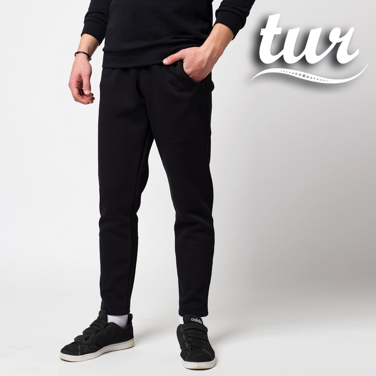 Зимние спортивные штаны мужские чёрные от бренда ТУР модель Сайракс (Cyrax) размер XS, S, M, L, XL, XXL