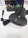 Вуличний лазерний проектор Laser Waterproof Shower, світлодіодний двоколірний проектор для вулиці Star Shower, фото 7