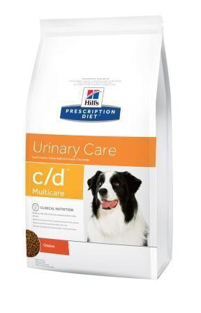 Hills PD Canine C/D 12 кг, диета для собак при лечении и профилактике мочекаменной болезни