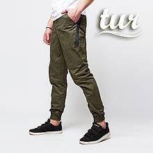 Штаны джоггеры мужские хаки от бренда ТУР  Мэд Макс (Mad Max) размер S, M, L, XL, XXL