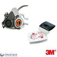 Респіратор 3М 6200 фільтр 6035