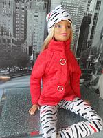 Набор одежды для Барби Игра с модой -  Куртка, легинсы, шапка, фото 5