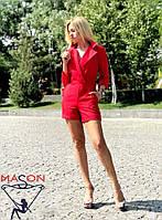 Комбинезон женский красный
