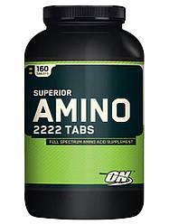 Амінокислоти Optimum Nutrition USA Amino 2222 160tab