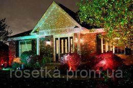 лазерний зоряний проектор - Red & Green Star Shower (Стар Шауер Лазер).