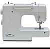 Minerva F819B, швейная машина с вертикальным челноком и полуавтоматической петлей, 19 видов строчек, фото 5