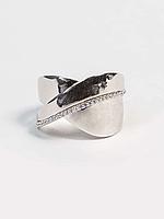 Кольцо серебряное с цирконием, фото 1