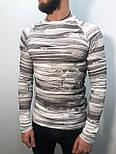 Мужской свитер (белый), фото 2