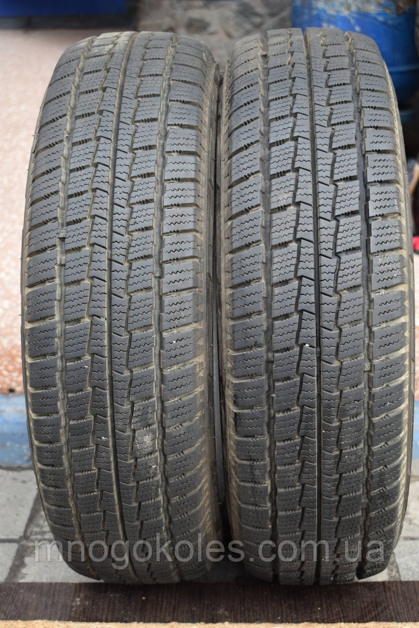 Шины б/у 165/70 R13 Hankook Winter RW06 ЗИМА, 2014 г., пара