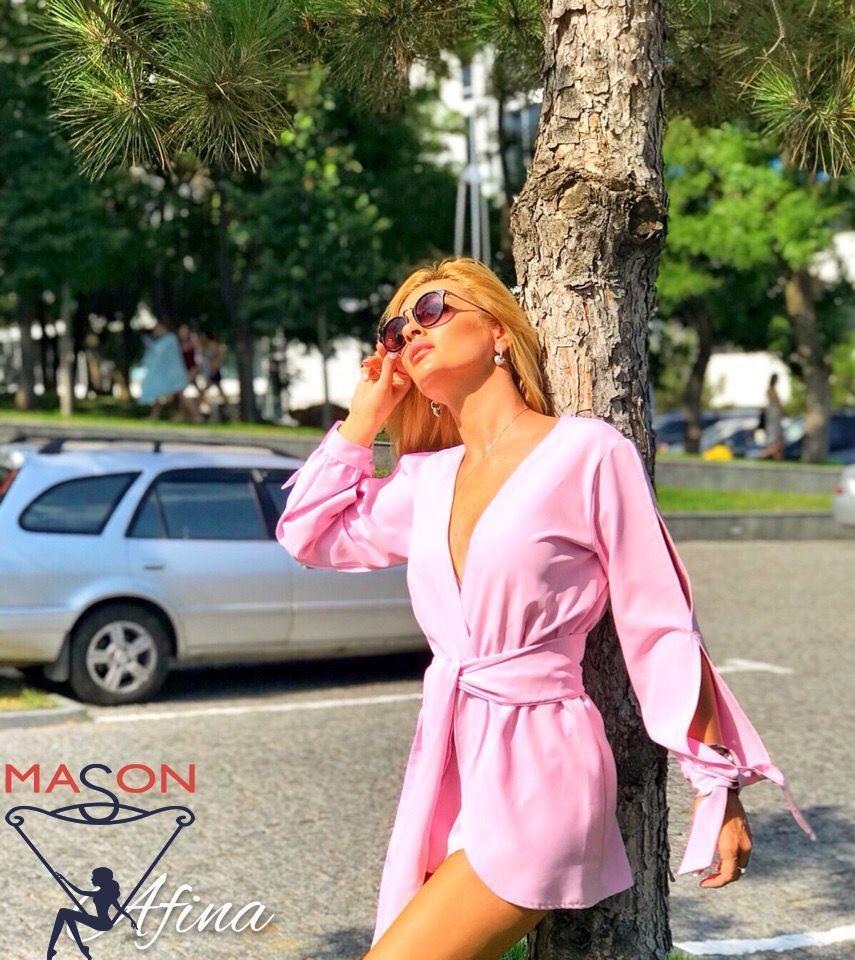 Комбинезон  розовый