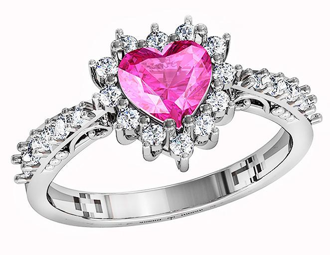 Кольцо  женское серебряное  Girl's dream 212 930