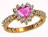 Кольцо  женское серебряное  Girl's dream 212 930, фото 2