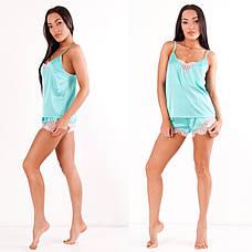 Пижама шелковая, фото 2