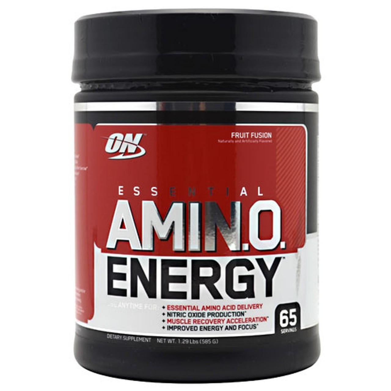 Амінокислоти Optimum Nutrition USA Essential Amino Energy 585g