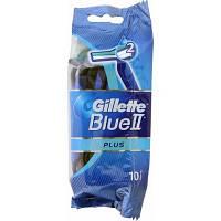Gillette Blue II Plus станки одноразовые, 10 шт.