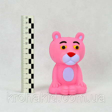 Сквиш Розовая пантера / Squishy/ Сквуши/ Игрушка-антистересс, фото 2