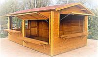 Палатки деревянные 4х2,5 м