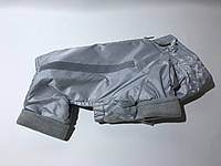 Комбинезон для собак на флисе размер 2,5 серый