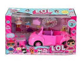 Игровой набор кукла L.O.L. с машиной TM853C кукла ЛОЛ с машиной
