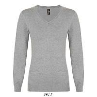 Женский пуловер с v-образным вырезом GLORY