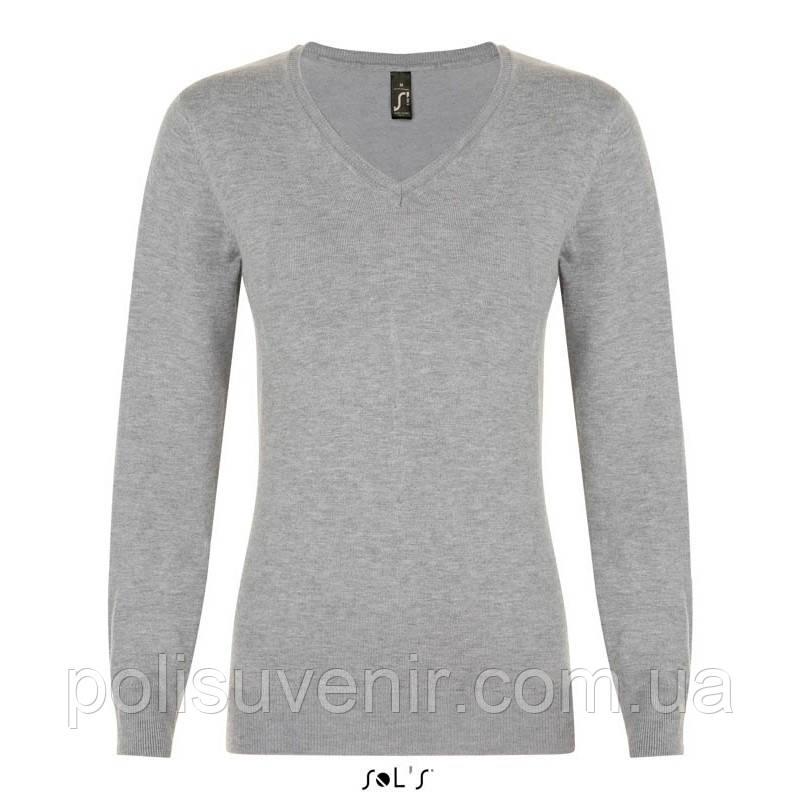 Жіночий пуловер з v-подібним вирізом GLORY WOMEN